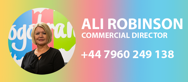 Ali Robinson - Commercial Director